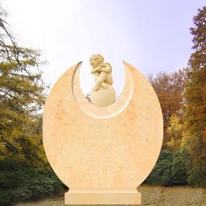 Remus Grabstein mit träumendem Engelsknaben