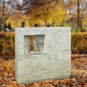 Spiritus Doreta Breitenstein Doppelgrab mit Bronzefiguren Engel