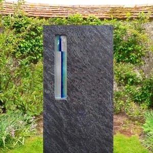 Clemente Designergrabmal mit Glas Design Bestellen