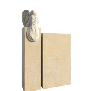 Mirabel Doppelgrab Grabstein Sandstein mit Engel Bestellen