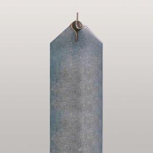 Cuneo Doppelgrabmal Granit mit Bronze Symbol Unendlichkeit