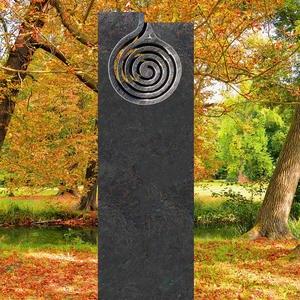 IL Turno Doppelgrabmal Granit Modernes Design Spirale