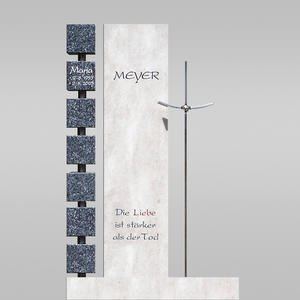 Monasterio Doppelgrabmal in Wã¼rfel & Kreuz Design