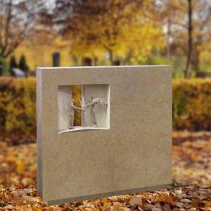 Spiritus Perres Einzelgrab Breitenstein mit Bronze Ornament Engel