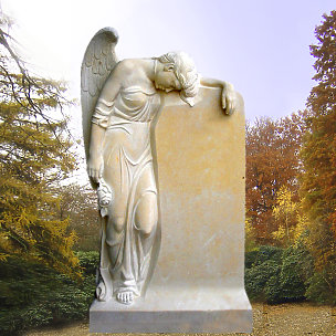 Magdalena Grabdenkmal mit Engelsfrau