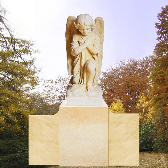 Kalus – Grabmal mit bestendem Engel