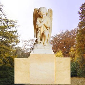 Grabmal mit bestendem Engel