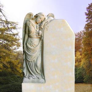 Grabmal Trauernde Engelfrau