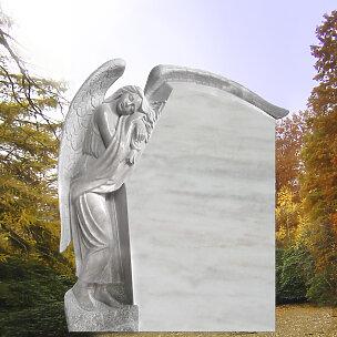 Fidelia Grabmal Trauernde Engelsfrau