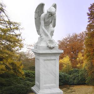 Ariella Doppelgrabmal mit Engel Motiv