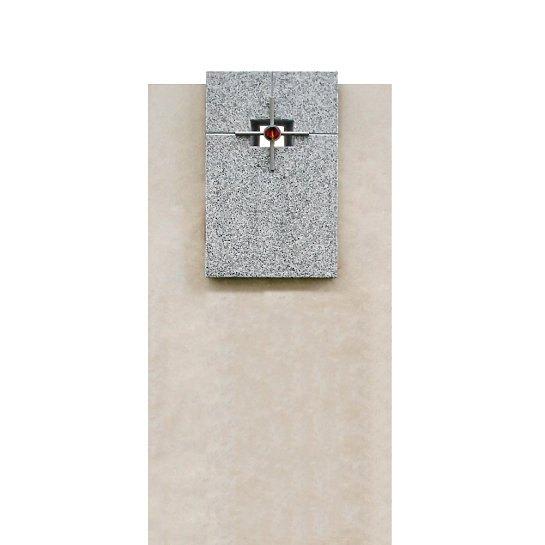 Martino – Grabmal Doppelgrab Naturstein Moderne Gestaltung