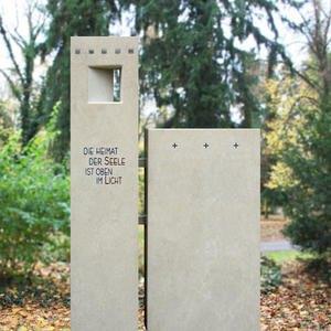 Ascendit Grabmal Doppelgrab Naturstein Moderne Gestaltung