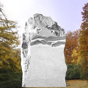 Michelangelo Rustikal Grabstein Berührungen der Hände