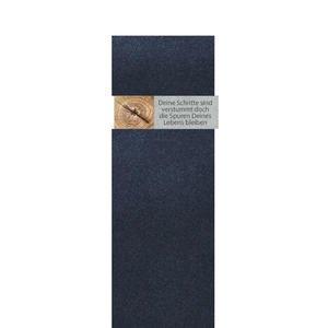 Carisso Albero Grabstein Einzelgrab mit Holz Ornament