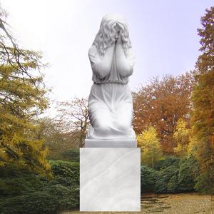 Die Trauernde Grabmal Trauernde Frau