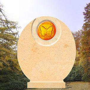 Mirage Grabdenkmal mit Schmetterling