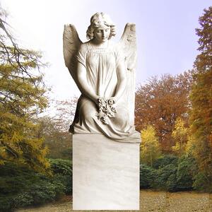Seduto Grabstein mit Engelsfrau
