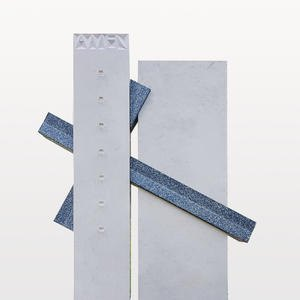 Carso Grabstein Naturstein Modern mit Kreuz Gestaltung