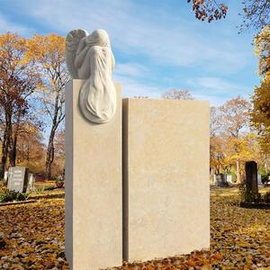 Grabstein Sandstein Modern Engel Statue