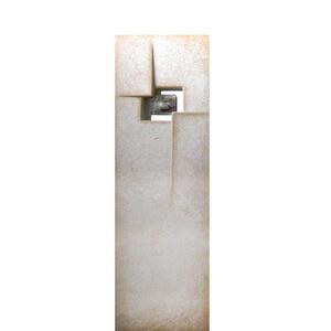 Nuova Grabstein Stele Einzelgrab modernes Design kaufen