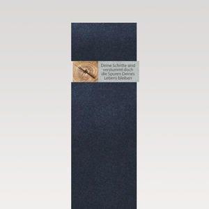 Carisso Albero Grabstein Urnengrab mit Holz Ornament