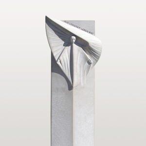 Dominus Dio Grabstein Urnengrab Modern Engel Gestaltung