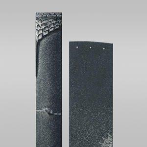 Genera Grabstein Urnengrab Zweiteilig Granit Stehend