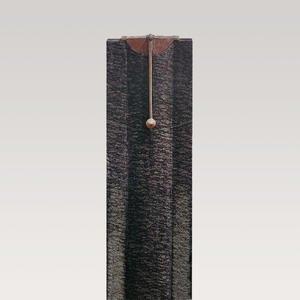 Pescaro Granit Doppelgrab Grabmal mit Bronze Symbol Pendel