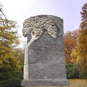 Mandaleen Grabdenkmal mit Lebensbaum