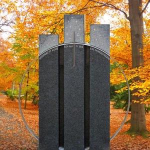 Trias Monumenta Granit Doppelgrabmal Swarovski Gestaltung Bestellen