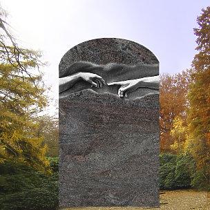Michelangelo Grabdenkmal mit Michelangelo Relief