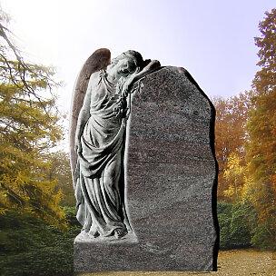 Clarissa Grabmal Trauernde Engelfrau