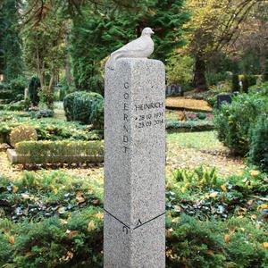 Dolcezza Granit Grabstein mit Vogel Statue Bestellen