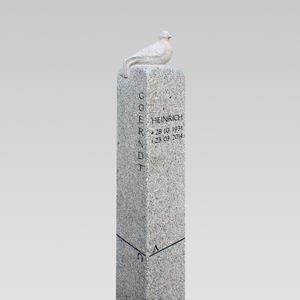 Dolcezza Granit Urnengrabstein mit Vogel Figur Kaufen