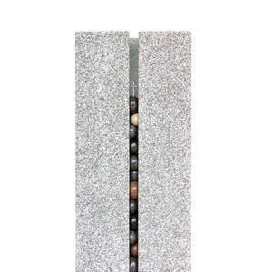 Sentenza Helles Grabmal Granit Modern Zweiteilig vom Bildhauer