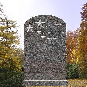 Stellaris Kindergrabmal mit Sternschnuppen