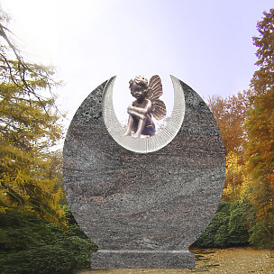 Salina Grabdenkmal mit trauernder Elfe