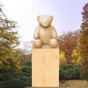 Filou Kindergrabmal mit Teddy