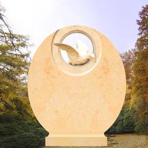 Savana Grabstein mit Taubenfigur