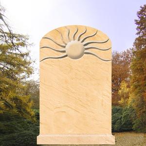 Venturia Grabstein mit Sonnenrelief