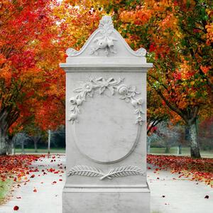 Marguerite Marmor Denkmal Klassisch Weiss Online Bestellen