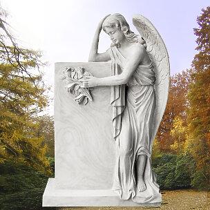 Florencia Grabstein Trauernde Engelsfrau