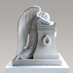 Trauernde Engelsfrau Grabmal
