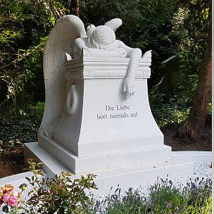 Emelyn Story Trauernde Engelsfrau Grabmal