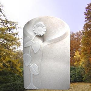 Florina Kindergrabmal mit Sonnenblume