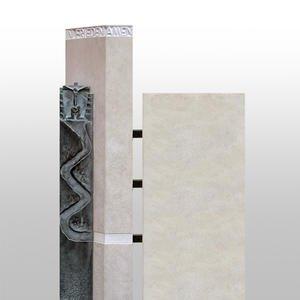La Via Mehrteiliges Grabmal Fã¼r Urnengrab aus Naturstein