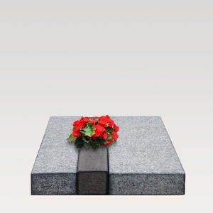 Avellino Moderne Granit Urnengrab Liegeplatte
