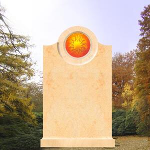 Pepinot Grabmal mit Sonnenglas