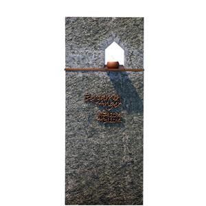 Domus Sacra Modernes Kindergrabmal mit Granit & Bronze