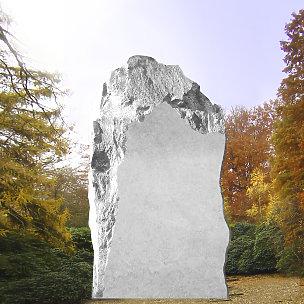 Savona Rustikaler Grabstein Felsen